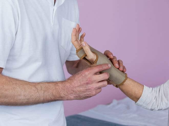 tratamento para dor no pulso